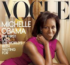 Michelle on Vogue