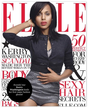Kerry on Elle Magazine