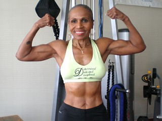 75 year-old Ernestine Shepherd