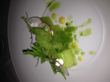 """green salad"" at Stella"