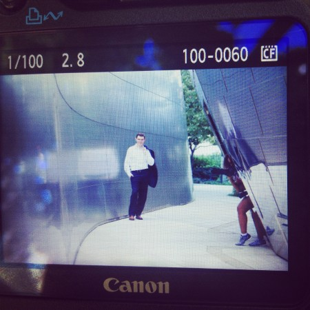 Disney Hall senior shoot