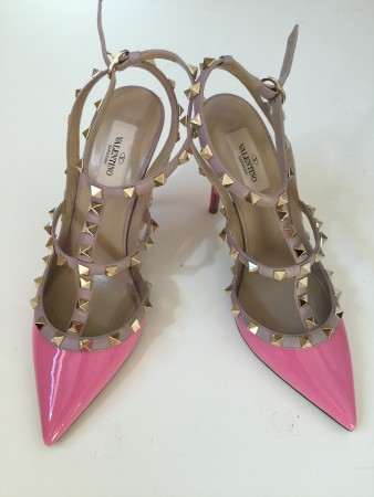 valentino rock stud pumps